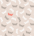 Unusual hipster seamless pattern with clothes moth vector image vector image