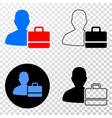 user case eps icon with contour version vector image vector image