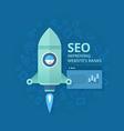 Seo Concept of Website Optimization vector image