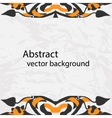decorative ribbon Abstract vector image vector image