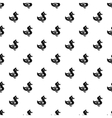 Duck pattern simple style vector image
