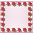 Frame with hearts - image vector image vector image