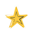star symbol of greatness vector image vector image