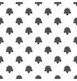 sunflower leaf pattern seamless vector image vector image