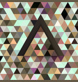 triangular abstract background vector image vector image