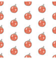 winter seamless pattern with festive ornaments vector image vector image