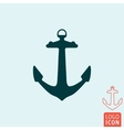 Anchor icon isolated vector image