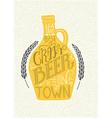 Craft Beer vector image vector image