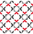 pattern-square-seven vector image vector image