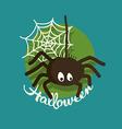 Spider Halloween vector image