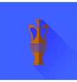Amphora Icon Isolated vector image vector image