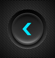 black button with blue fast backward sign