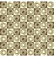 chucky swirls vector image vector image