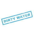 Dirty Water Rubber Stamp vector image vector image