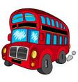doubledecker bus vector image