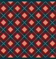 geometric check scottish skirts print vector image