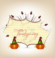 grateful heart thanksgiving greeting card vector image vector image
