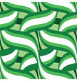 green floral seamless vector image vector image