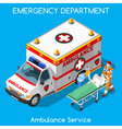 Hospital 18 People Isometric vector image vector image
