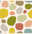 seamless pattern with colorful spots vector image