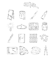 Professional collection of icons and elements Set vector image
