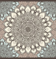 highly detailed mandala seamless pattern in a vector image