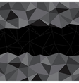 Black Mosaic Background Creative Business Design vector image vector image