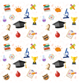 Education Seamless Pattern vector image vector image