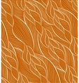 hand-drawn pattern with waves vector image vector image
