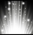 light flare from below white color vector image