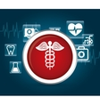 Medical first aids vector image