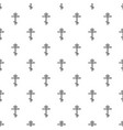 orthodox cross pattern seamless vector image vector image