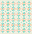 seamless pattern retro vintage ornamental vector image vector image