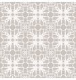 Simple elegant lace pattern with white shapes vector image vector image