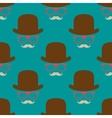 Vintage hipster symbol seamless pattern vector image vector image