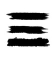 black background for text paint ink brush stroke vector image vector image