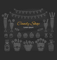 candy shop hand drawn vector image vector image