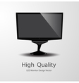 LED Monitor Design vector image vector image