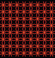 line and angular red colors metal pattern vector image