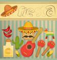 Mexican Fiesta vector image vector image