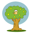 Yellow Partridge In A Pear Tree vector image vector image