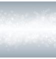 beautiful various snowflakes vector image vector image