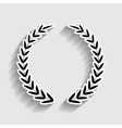 Laurel Wreath sign vector image vector image