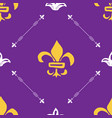 mardi gras seamless pattern hand drawn sketched vector image vector image