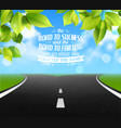 road of life quotes vector image vector image