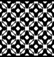 seamless pattern monochrome floral lattice vector image vector image