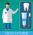 Teeth Hygiene Banner vector image