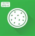 watermelon icon business concept ripe fruit vector image