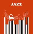 jazz festival vector image