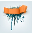 Abstract Arrow with Place for Text vector image